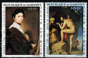 Dahomey #C49-50 MNH CV $6.50 (X9626)