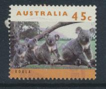 Australia SG 1456b  Used  orange brown  - wildlife Koala