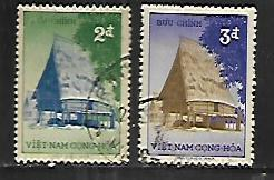 VIETNAM,66-67, USED, 1957 ISSUE