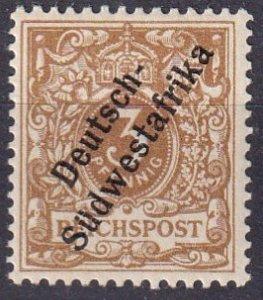 German South West Africa #7b  F-VF Unused CV $8.00  (Z4691)
