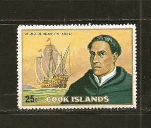 Cook Islands 425 Urdaneta MNH