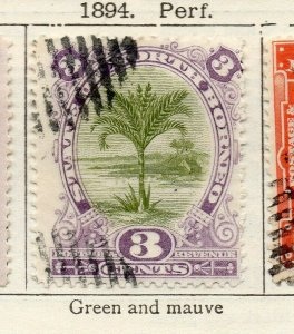 North Borneo 1894 Early Issue Fine Used 3c. NW-113864