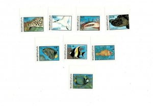 Maldives MNH 1185-92 Marine Wildlife