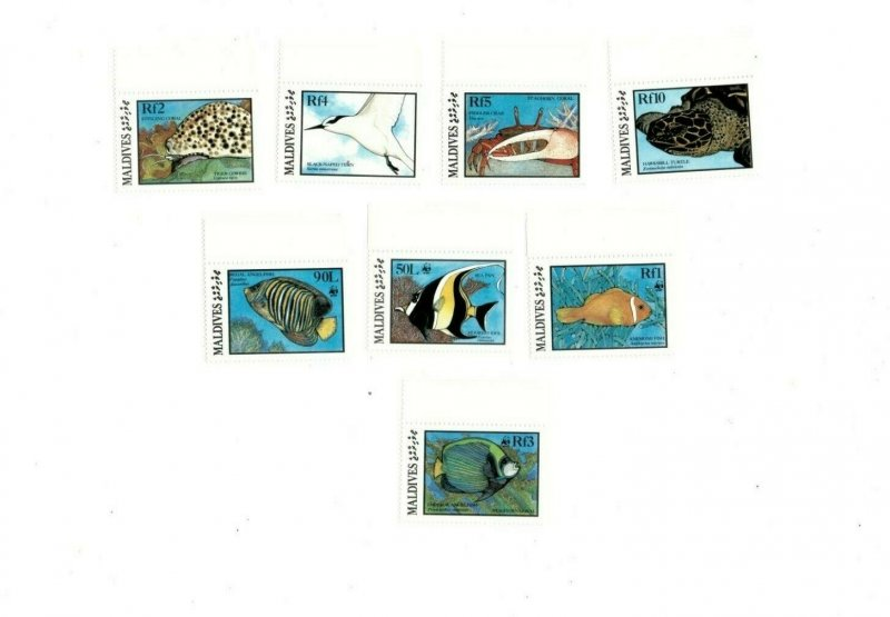Maldives MNH 1185-92 Marine Wildlife