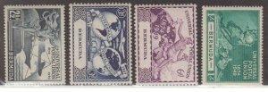 Bermuda Scott #138-141 Stamp - Mint NH Set