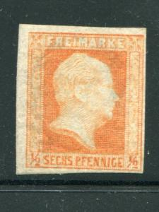 Prussia #2  Mint F-VF NH