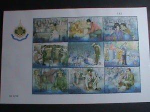 THAILAND STAMP -1999 -SC#1914a- KING  BHUMIBOL ADULYADEJ'S 72ND BIRTHDAY MNH