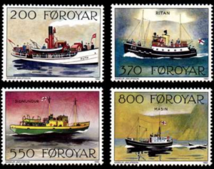 STAMP STATION PERTH Faroe Islands #232-235 Fa229-232 MNH CV$5.70