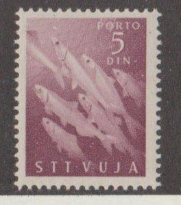 Yugoslavia Trieste Scott #J10 Stamp - Mint NH Single