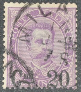 DYNAMITE Stamps: Italy Scott #66 – USED