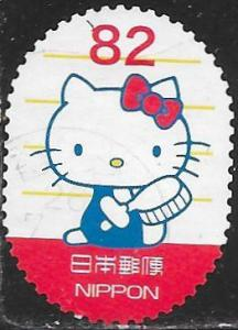 Japan 3696f Used - Sanrio Characters - Hello Kitty with Hair Brush