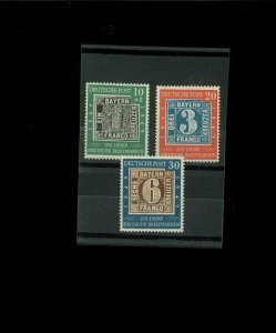 Germany SC# 667-68,B309 MNH. Cat.80.50. Better Item-1