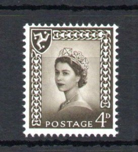 4d ISLE OF MAN REGIONAL UNMOUNTED MINT WITH PHOSPHOR OMITTED Cat £25