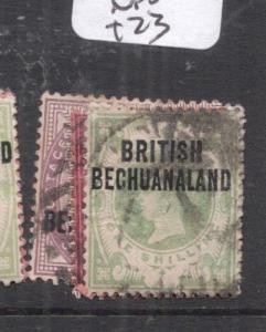 Bechuanaland SG 33-7 VFU (5dlx)