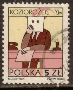 Poland  #3288  used  (1996)  c.v. $2.40