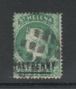 St. Helena, Scott 33a (SG 34), used