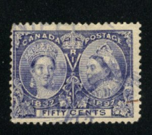 Canada #60  used  VF 1897   PD