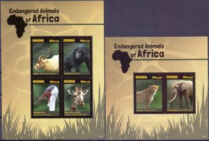Ghana. 2014. Fauna of africa. MVLH.