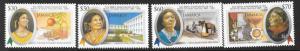 JAMAICA SG1095/8 2005 MATY SEACOLE MNH