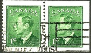 CANADA #284 USED PAIR