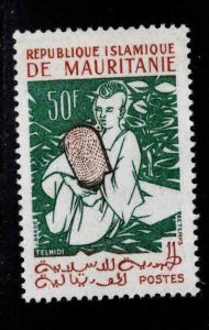 Mauritania Scott 131 MH* stamp