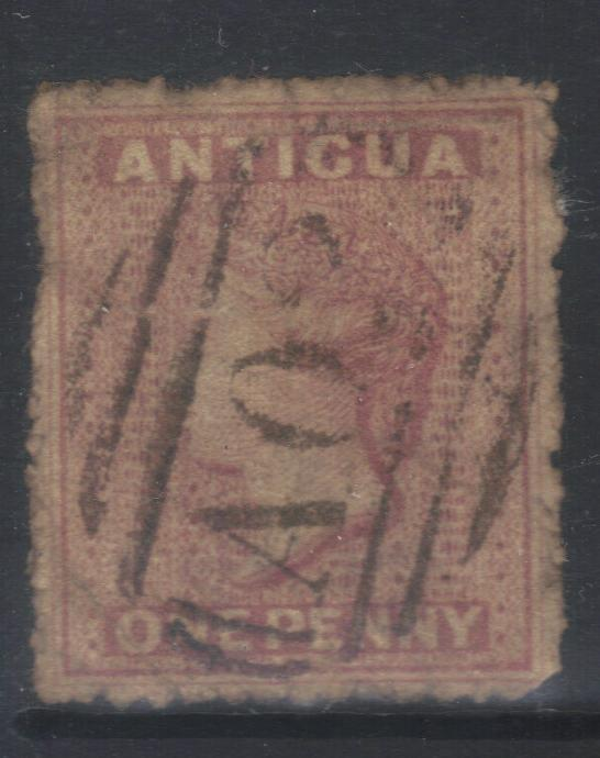 ANTIGUA 1863-1867 SMALL STAR SG5 USED CAT £80