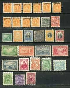 NICARAGUA CLASSIC MOSTLY MINT SELECTION HIGH CATALOGUE VALUE AS SHOWN