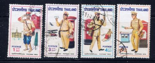 Thailand 792-95 Used 1976 Postal Service