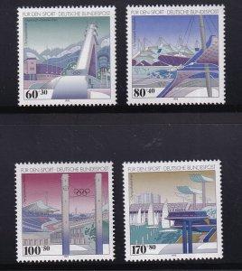 Germany  #B741-B744  MNH  1993  sport promotion  Olympics