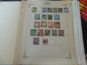 Chile Airmails and Telegraph Stamp Collection 1936-1970 on Yvert Album Pages