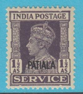INDIA - PATIALA STATE O69 OFFICIAL MINT NEVER HINGED OG ** NO FAULTS EXTRA FINE!