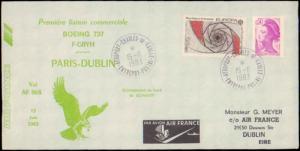 France, First Flight, Aviation, Europa, Ireland