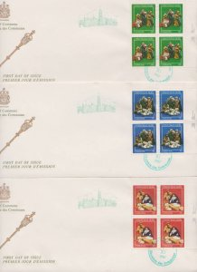 CANADA FDC FROM HOUSE OF COMMONS STAMPS #973-975  LOT#M101