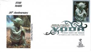 Star Wars/Yoda FDC from Toad Hall Covers!  (#3)