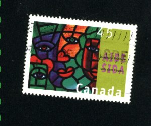 Canada #1603   -1    used VF 1996  PD