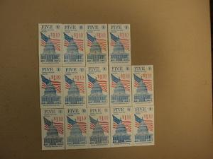 USPS Scott 2116 22c 1985 Flag Over Capitol Dome 14 Books ...