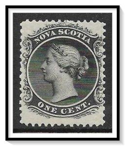 Nova Scotia #8 Queen Victoria MH