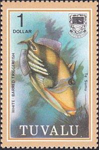 Tuvalu # 111 mnh ~ $1 Fish