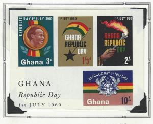 Ghana  booklets  mnh sc  81a