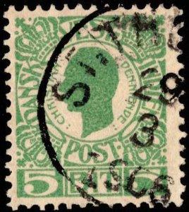 Danish West Indies Scott 31 Used.