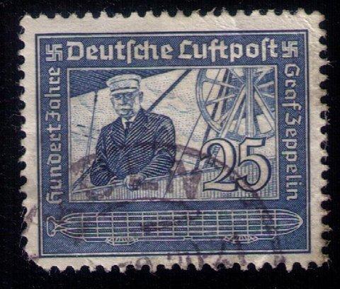 GERMANY SCOTT #C59 USED GRAF ZEPPELIN F-VF