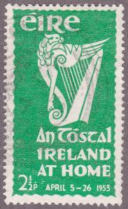 Ireland 147 USED 1953 Irish Harp