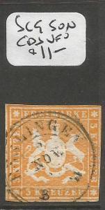 Germany Wurttemberg SC 9 SON CDS VFU (9cpn)