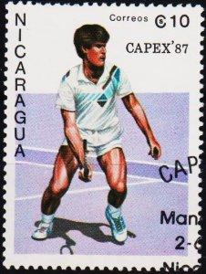 Nicaragua. 1987 10cor S.G.2870  Fine Used