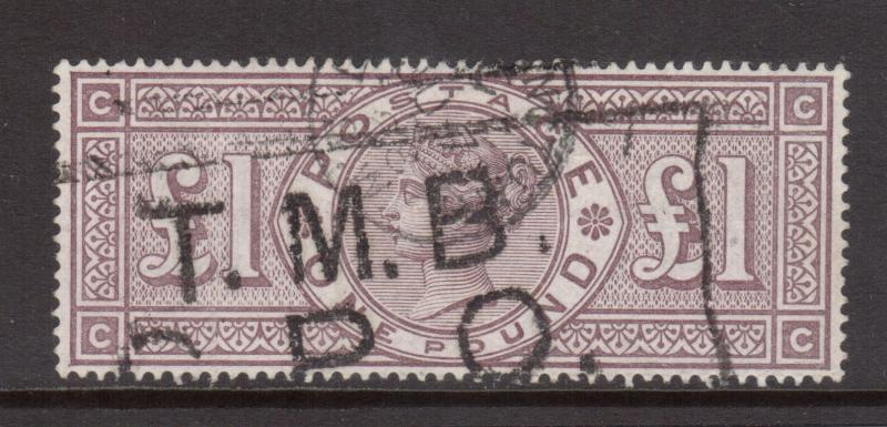 Great Britain #110 XF Used & Scarce