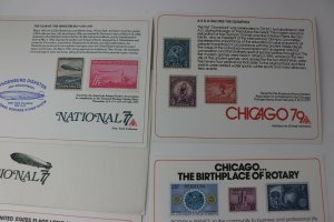 ASDA National Stamp Festival Chicago Philatelic Expo club Souvenir card 77 79 80