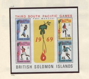Solomon Islands #195//556 MNH/Used CV$68.25 1969-1985 Collection on Album Pag...