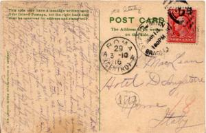 United States Minnesota Bradley Sta. St. Paul 1916 numeral duplex  DPO  2c Wa...