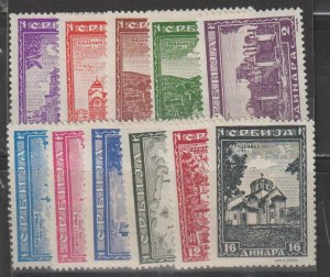 Serbia SC 2N31-41  Mint Never Hinged