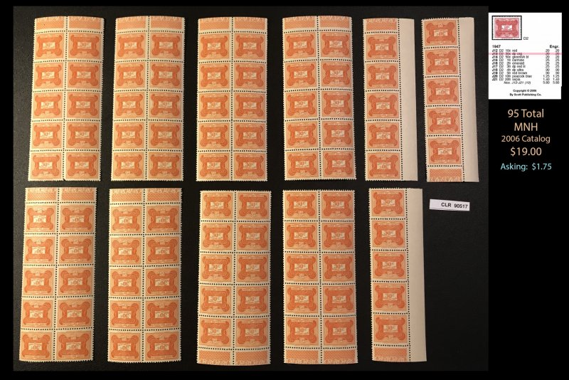 French Equatorial Africa CLEARANCE: Dealer's Lot ~ Sct J13 ~ 95 tot  ~ CLR90517